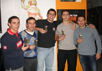Vencedores do Torneio de CS